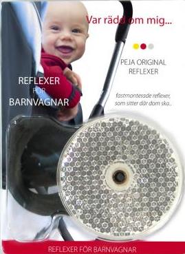 Reflexer barnvagn