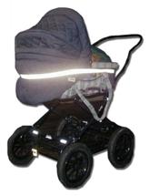 Mjukreflex barnvagn