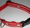 Reflexhalsband rött 20mm