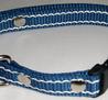 Reflexhalsband blått 20mm