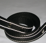 Reflexkoppel svart 25mm