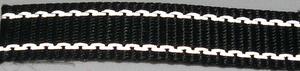Reflexband 20mm Svart