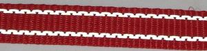 Reflexband 20mm Rött
