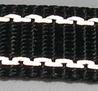 Reflexband 25mm Svart