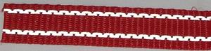 Reflexband 25mm Rött